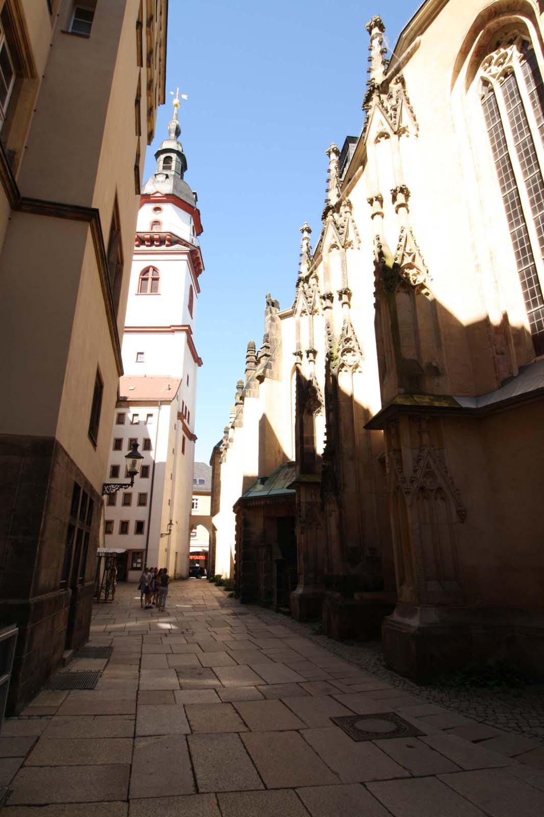 Kirchgässchen Jakobikirche, Foto: Malik Ouada
