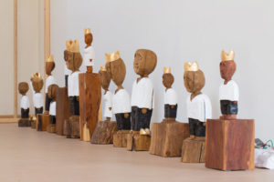 "Skulpturen ""Könige"" Matthias Knoblauch"